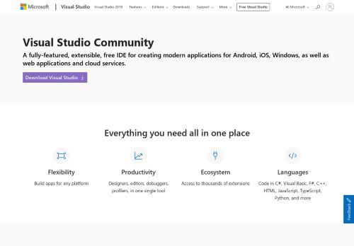 Visual Studio Community Edition
